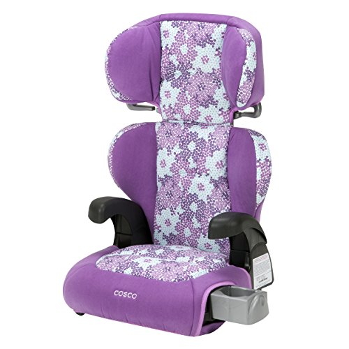 Cosco Pronto Belt-Positioning Booster Car Seat, Petal Pallet