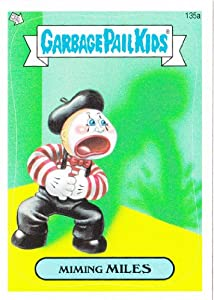 Garbage pail kids brand new series3 quot miming miles quot 135a toys amp games