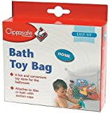 Clippasafe Bath Toy Bag - White