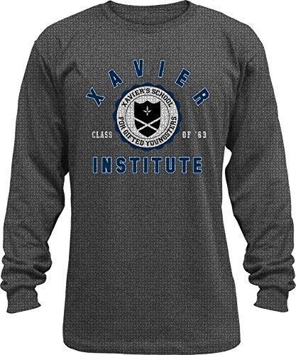 x-men-institute-mens-long-sleeve-thermal-t-shirt-grey-x-large