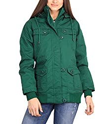 Duke Stardust Green Coloured Jacket Made From Cotton