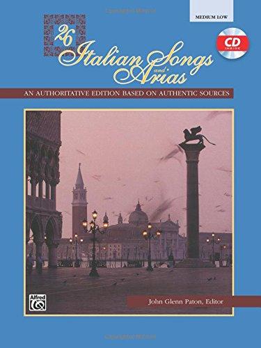 italian songs and arias pdf