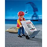 Playmobil Dock Worker with Hand Cart