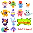 Moshi Monsters Moshling Series 5 Complete Set Of 12 Figures