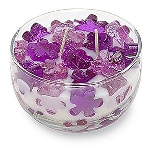 Primal Elements Color Bowl Candle, Lavender, 12-Ounce Jar