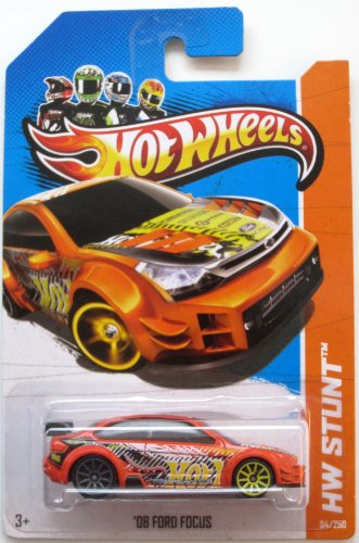 Hot Wheels '08 Ford Focus (HW Stunt - 2013) 202/250 HW Drift Race - 1