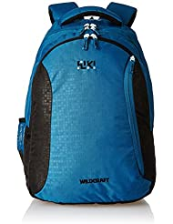 Wildcraft 42 Liters Multi-Colour Casual Backpack (Bricks 6 Blue)