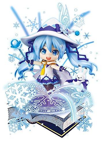 ねんどろいど 雪ミク Magical Snow Ver. WF 2014 会場 全高約10cm ABS&PVC製 塗装済み可動フィギュア