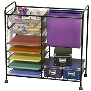 Scrapbook Storage Solutions® 1540B2 Mobile Storage Cart Review