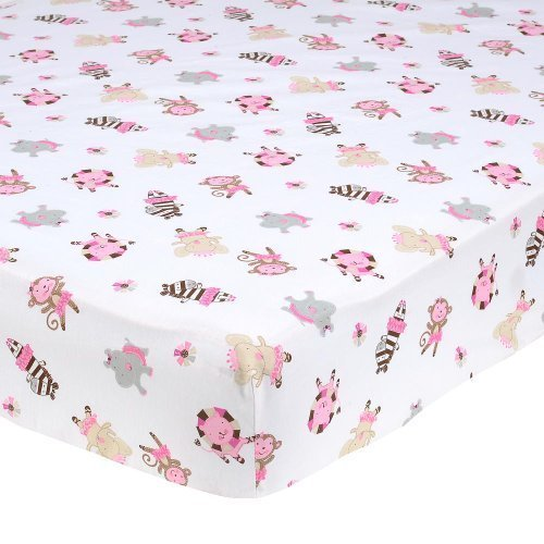 Summer Infant TuTu Cute Nursery Crib Sheet (Discontinued by Manufacturer) - 1
