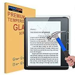 Kindle Oasis Glass Screen Protector, Pasonomi [9H Hardness] [Crystal Clear] [Scratch-Resistant] Premium Tempered Glass Screen Protector Film for Kindle Oasis 2016 Released