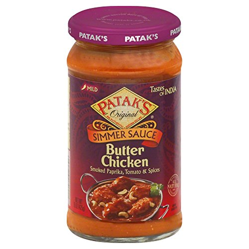 Pataks Butter Chicken Sauce 15Oz (Butter Chicken Curry compare prices)