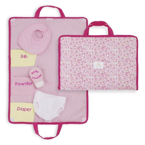 North American Bear Company Rosy Cheeks Baby Changing Pad Set - 1