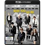 Now You See Me [4K Ultra HD + Blu-Ray + Digital HD]