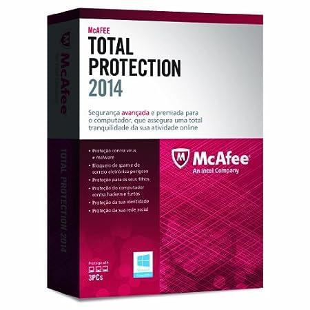 McAfee Total Protection 2014 - Paquete Para Actualización, 3 Usuarios