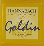 Hannabach Classical Guitar Goldin Medium/High Tension, 725