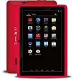 BTC Flame+ UK IPS 7' Quad Core Tablet PC, Google Android 4.4 KitKat (1GB RAM, 8GB HDD, WIFI, HDMI, USB, Bluetooth) - Red