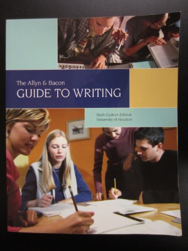 Allyn And Bacon Guide To Writing Pdf