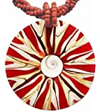 Hals-Kette mit Muschel-Anhänger Halsschmuck