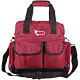 Large Baby Diaper Bags Backpack (Red star)