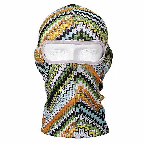 Maoko Printing Polyester Full Balaclava Dust-Proof- Hood Face Mask Hat Windproof
