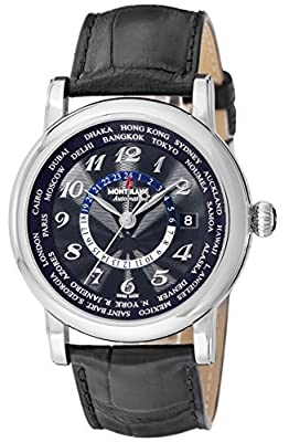 [Mont Blanc] MONTBLANC watch STAR black dial automatic winding 106464 Men's parallel import goods]