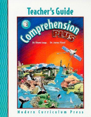 COMPREHENSION PLUS, LEVEL E, TEACHER'S EDITION, 2002 COPYRIGHT