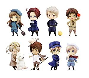 Amazon.com: One Coin Figure Hetalia -Round 2- PVC Figures: Toys