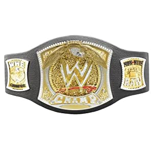 We here at Replica Title Belts are dedicated to bringing you good quality, great looking, customized championship title belts. With our belts you are guarented to save hundreds of dollars on each belt you purchase with us! We can make anything you are looking for from: Pro Wrestling, MMA, Boxing, Employee of the month to even a birthday party belt.