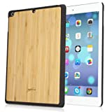 BoxWave True Bamboo Minimus IPad Air Case Genuine Bamboo Wood Backing Shell Case Cover With Durable Plastic Edges...