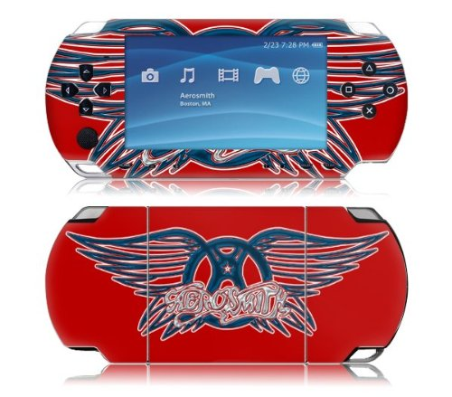 Zing Revolution MS-AERO20014 Sony PSP Slim- Aerosmith- Wings Red Skin