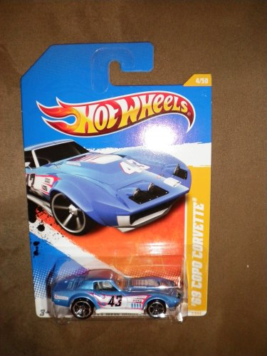 HOT WHEELS 2011 NEW MODELS BLUE '69 COPO CORVETTE 4/50 - 1