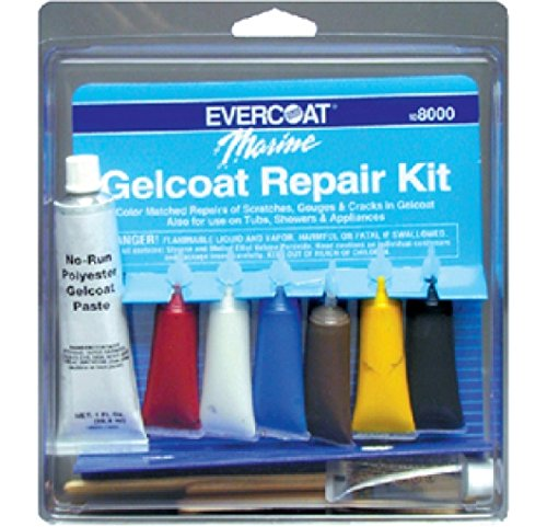 Fibre Glass-Evercoat Co Gel Coat Repair Kit 1 Oz. (Boat Gel Coat Repair Kit compare prices)