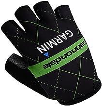 Eleph 2015 Men39s Ourdoor Sports Pro Team Bike Cycling Half Finger Fingerless 3d Gel Gloves CGL00432