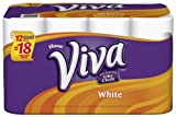 Viva Paper Towels, White, Giant Rolll, 12 Rolls, Pack of 2 (24 Rolls)