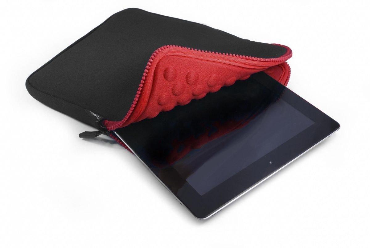 Tuff-Luv Armour-Prene - Funda para tablet y lector de libros electrónicos negro/rojo negro /rojo Apple iPad Mini / Kindle Fire HD 7  Informática Comentarios de clientes
