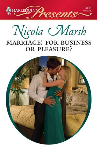 Image of Marriage: For Business or Pleasure?