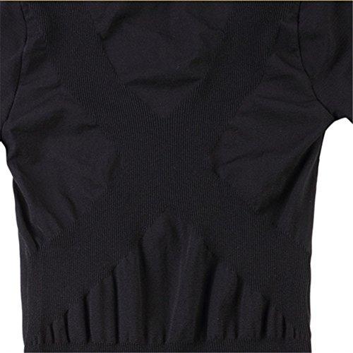 Generic Mens Long Sleeve Slim Shapewear Shirt generic