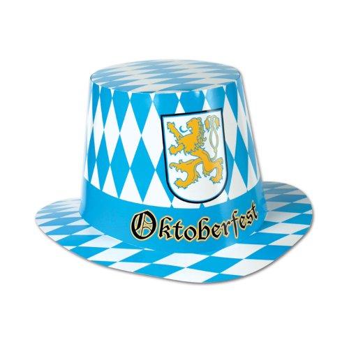 Beistle 66214-25 25-Pack Oktoberfest Hi-Hats