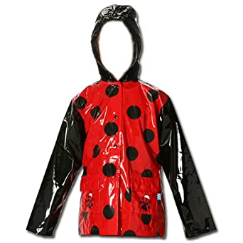 ladybug rainjacket front