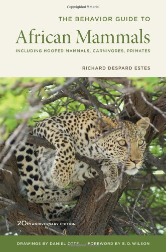 The Behavior Guide To African Mammals: Including Hoofed Mammals, Carnivores, Primates front-1011535