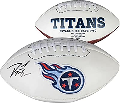 Dorial Green-Beckham Tennessee Titans Autographed White Panel Football - Fanatics Authentic Certified