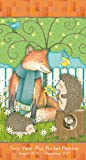img - for Fox and Hedgehog by Debbie Mumm 2016 Checkbook/2 year pocket planner Calendar book / textbook / text book