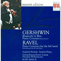 Gershwin, G.: Rhapsody In Blue / Piano Concerto In F Major / Ravel, M.: Piano Concerto For The Left Hand (Rapp)