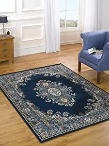 Element Lancaster Red Contemporary Rug Rug Size: 150cm x 80cm (4 ft 11 in x 2 ft 7.5 in) from Flair Rugs