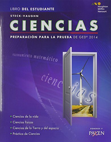 Steck-Vaughn Ciencias: Preparacion para la prueba de GED 2014 (Steck-Vaughn GED)