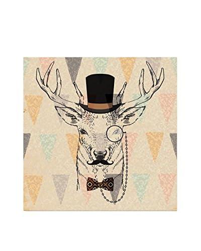 ReallyNiceThings Panel Decorativo Deer Portrait