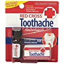 Red Cross Toothache Medication, 1/8-Ounce Bottles (Pack of 6)