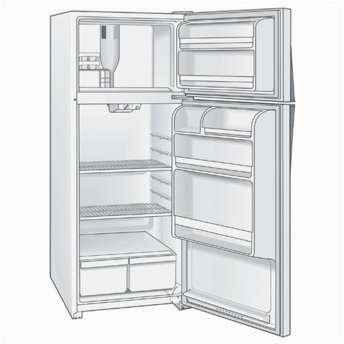 Amana refrigerator amana refrigerator evaporator fan not for How to test refrigerator evaporator fan motor