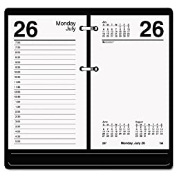 AT-A-GLANCE - Recycled Desk Calendar Refill, 3 1/2\